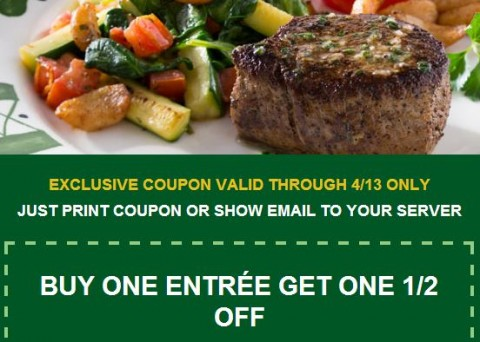 Olive Garden: BOGO 1/2 Off Coupon - MyLitter - One Deal At A Time