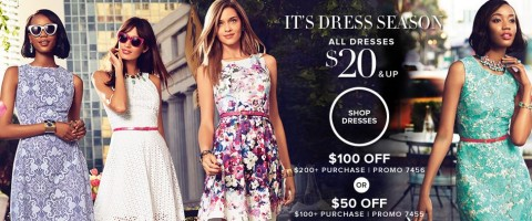 31a0af611 This is a huge discount at New York & Company and the perfect time to get  your summer dresses! The dresses at NY&C are great for the office, ...