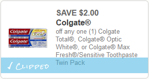 colgate coupon