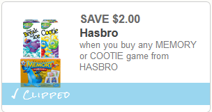 cootie game coupon