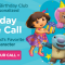 free nick jr phone call