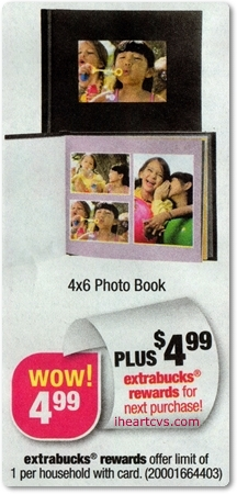 free photo book at cvs