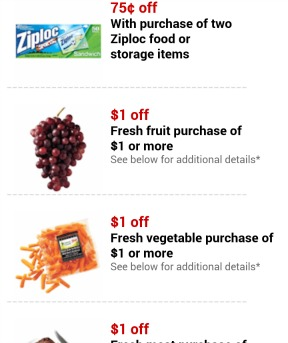 fresh fruit target coupon