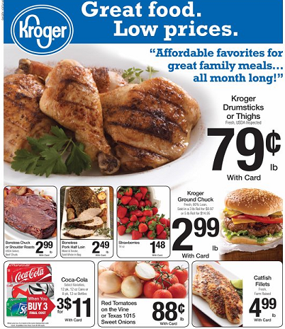 Kroger loyalty card coupons