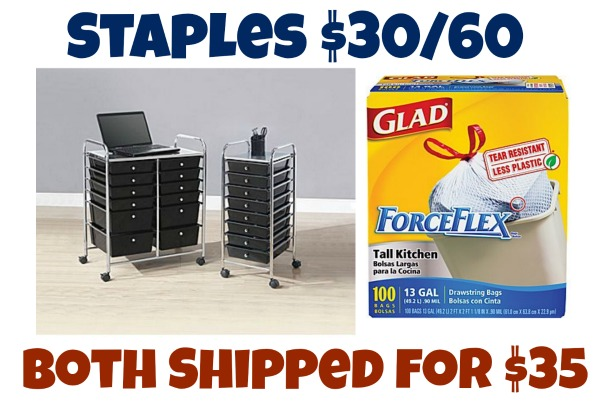 Staples Hot 30 60 Coupon Code Mylitter One Deal At