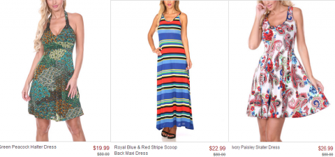1019f4f7f0e Zulily has a large selection of stylish women s dresses that start at   19.99 each. Great for a casual summer wedding