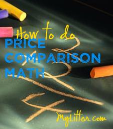 Price Comparison Math