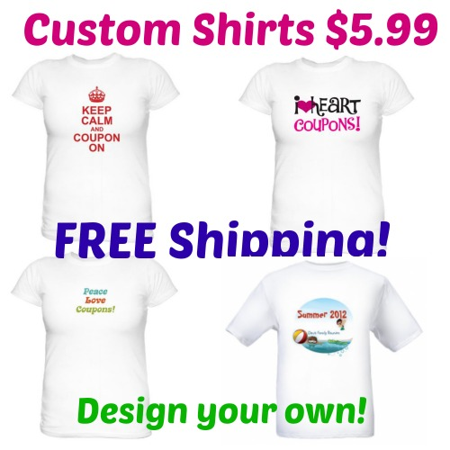 Custom T Shirt Only Free Shipping