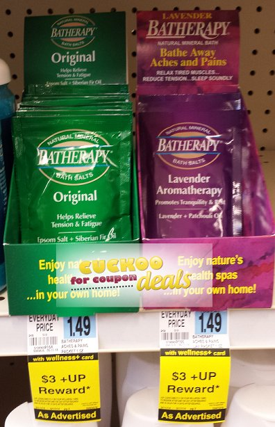 free bath care products