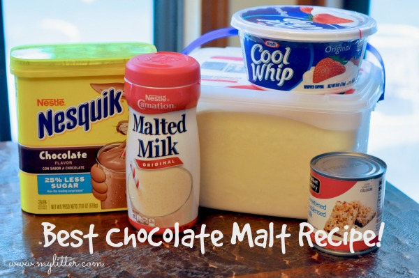 Best Chocolate Malt ingredients