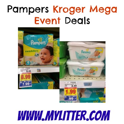 Kroger Pampers Deals