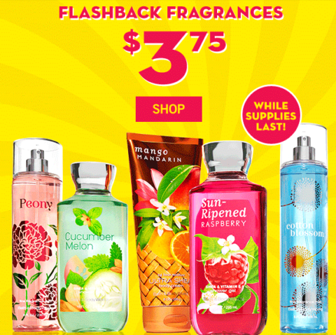 flashbackfragrance bbwsemiannualsale  Right now is Bath   Body Works. Bath   Body Works Semi Annual Sale   3 for Signature Collection