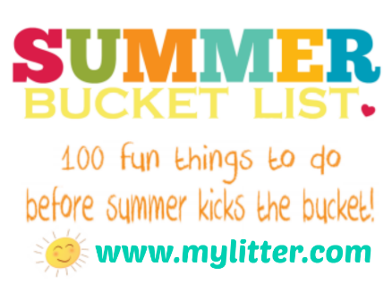 Kids Summer Bucket List Printable