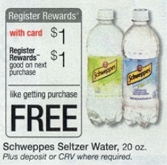 free schweppes at walgreens