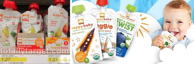 happy baby organic pouches