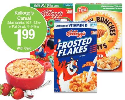 kelloggs cereal sale at kroger