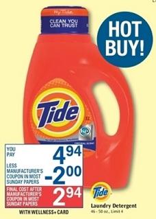 rite aid detergent deal