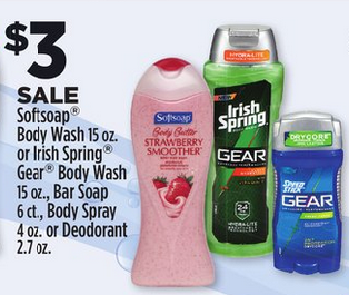 speed stick gear deodorant at dollar general