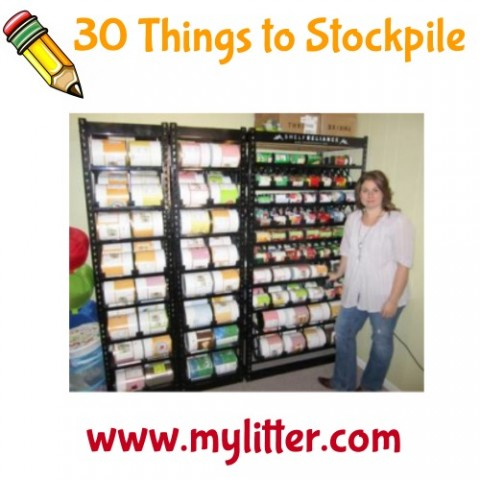 Day 4 30 things to stockpile