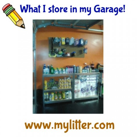 Day 4 coupon class - store in my garage