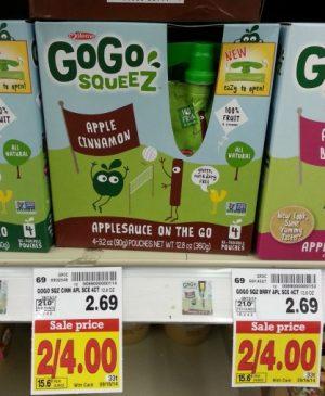 GoGo Squeez 916