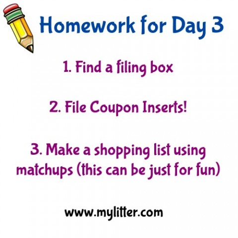 Homework for day 3