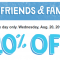 walgreens friends and family coupon