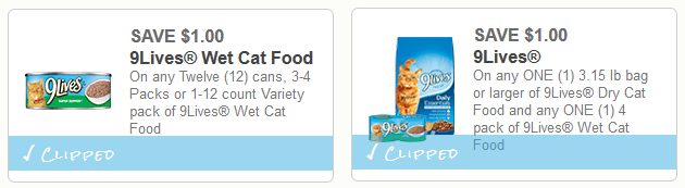 9 lives coupons