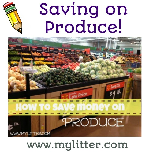 Saving on produce
