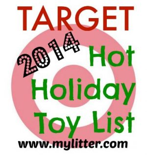 Target Hot Holiday Toy List 2014