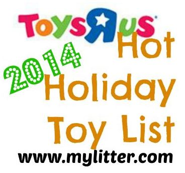 ToysRUs Hot Holiday Toys List 2014