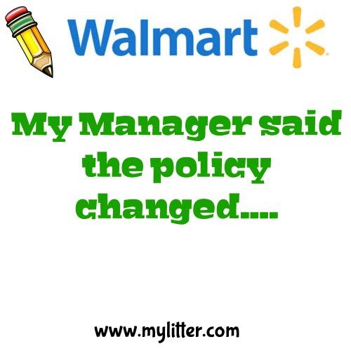 Walmart Day 7
