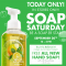 free hand soap from bath & body works