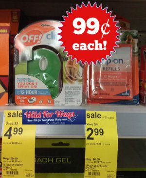 off clip on walgreens deal