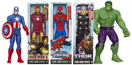 titan super hero series