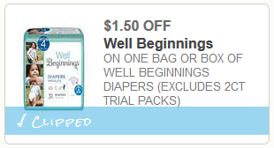 well beginnings diaper coupon