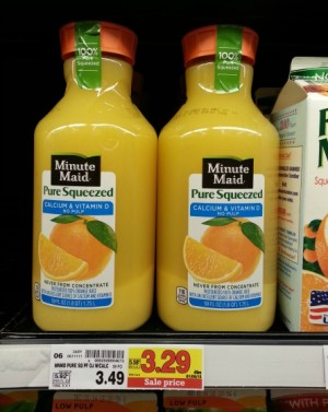Minute Maid Pure Squeezed 59oz 1515