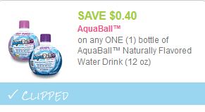 aquaball coupon