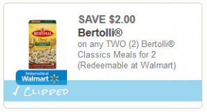 bertolli meals coupon
