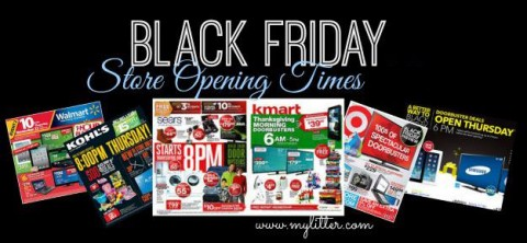 black friday opening hours