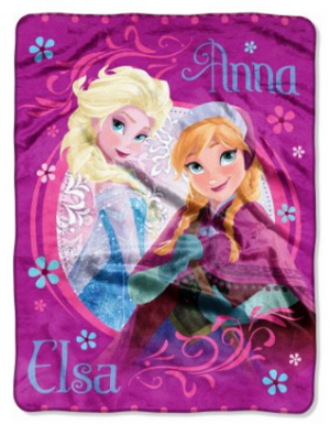 disney frozen fleece blanket