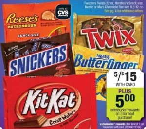 hersheys candy deal at cvs