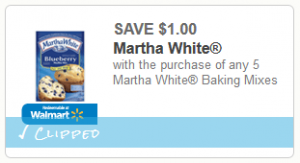 martha white coupon