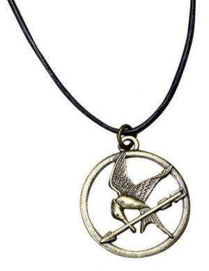 mockingjay necklace pendant