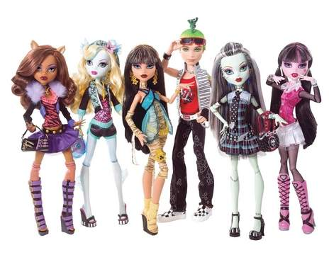 monster high dolls at walgreens