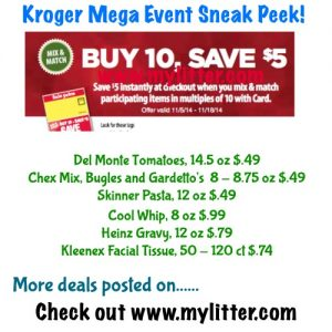 save kroger mega