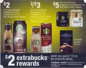 starbucks refreshers deal at cvs