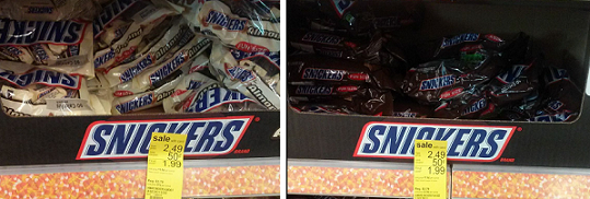 walgreens snickers candy deal