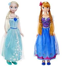 disney frozen my size dolls