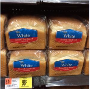 free bread at walmart